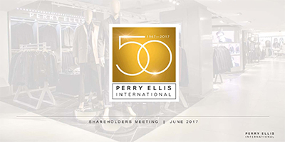 Perry Ellis Spring 2017 Campaign